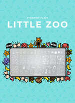 Stamping Plate: LITTLE ZOO