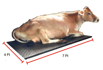 COW Mats for Dairy Cows (7ft x 4ft x 25 mm)