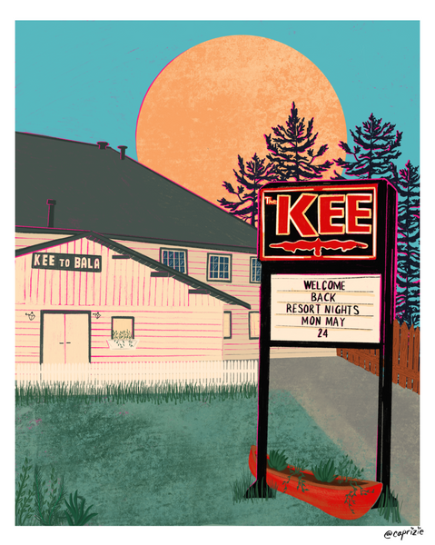 The Kee to Bala Print