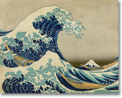 The Great Wave - Paint By Numbers