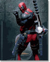 Deadpool At Toilet - Paint By Numbers