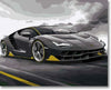 Black Lamborghini Centenario - Paint By Numbers