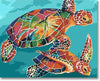 Colorful Tortoise - Paint By Numbers