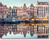 Canal Amsterdam - Paint By Numbers