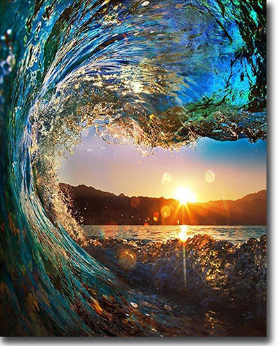 Sunset Wave - Paint By Numbers