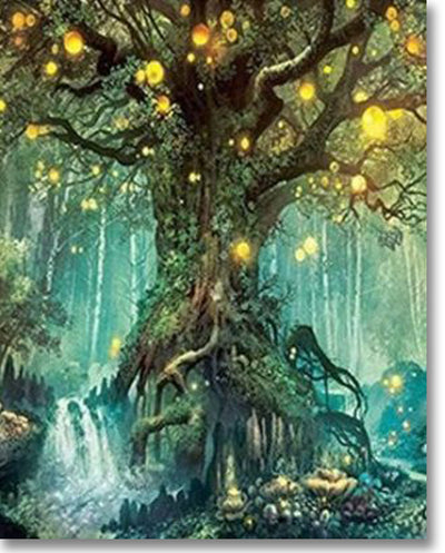 Magic Tree - Paint By Numbers