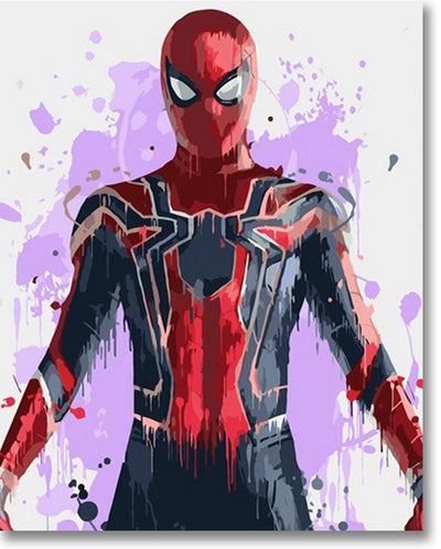 Spiderman - Paint By Numbers