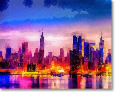 Colorful New York - Paint By Numbers