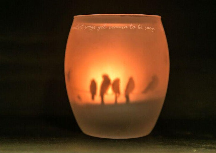 Shado Candle: Birds on Wire