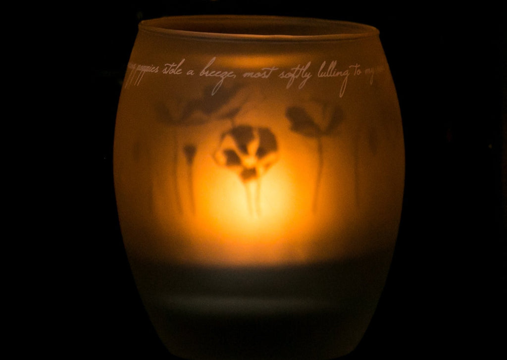 Shado Candle: Poppies