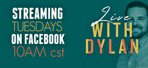 Join Ellis Home and Garden and Designs by Dylan every Tuesday at 10am CST on our Facebook page for a Live video featuring Dylan. He will create a stunning design using our great products.