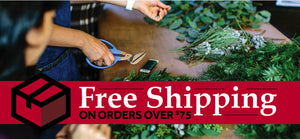 Ellis Home and Garden offers Free Shipping on orders over $75 within the continental US