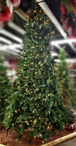 12' Gatlinburg Full Artificial Christmas Tree-Christmas Trees-Ellis Home & Garden