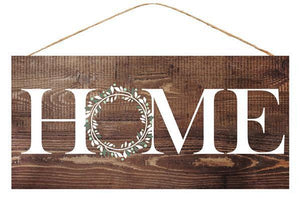 "12.5"" Home Wood Sign-Home Decor-Ellis Home & Garden"