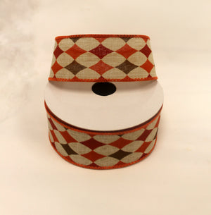 "1.5"" Fall Harvest Plaid Ribbon-Fall Harvest Ribbon-Ellis Home & Garden"