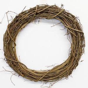 "24"" Round Grapevine Wreath-Grapevine & Drieds-Ellis Home & Garden"