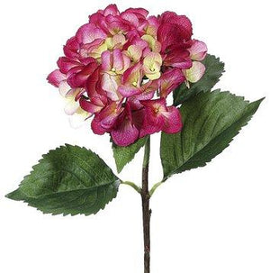"27"" Two Tone Beauty Hydrangea Floral Stem-Spring Floral-Ellis Home & Garden"