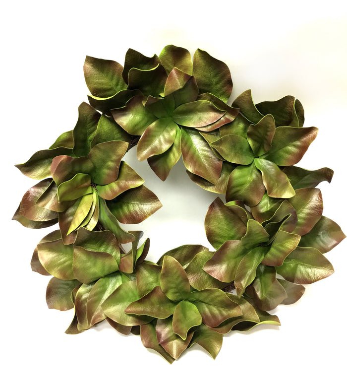 "28"" Magnolia Leaves Wreath"