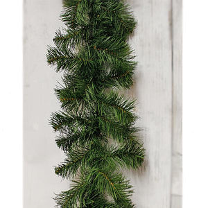 "9"" Scotch pine garland-Christmas Wreaths & Garlands-Ellis Home & Garden"