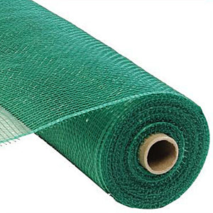"21"" Value Deco Mesh - Emerald Green"