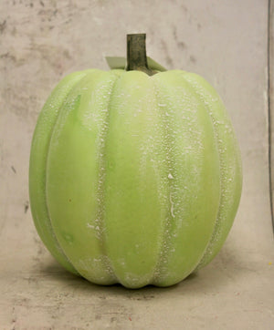 "7"" Sage Green Fall Pumpkin"