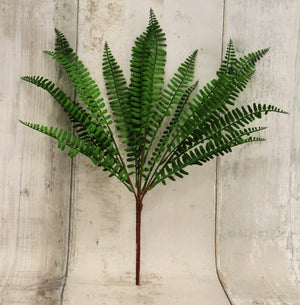Silk Fern Bush-Greenery-Ellis Home & Garden