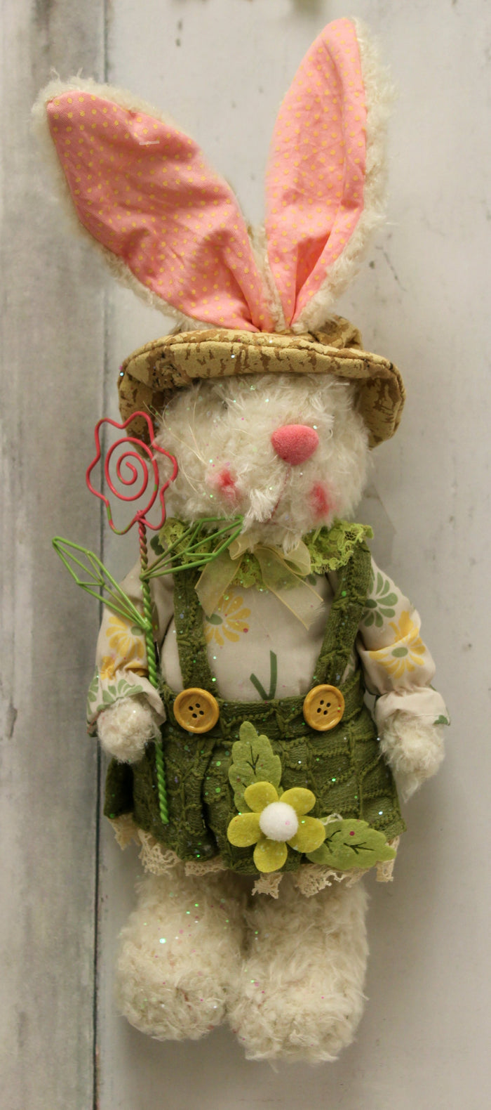 Standing Bunny with Flower