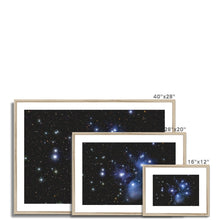 Load image into Gallery viewer, The Pleiades Framed & Mounted Print