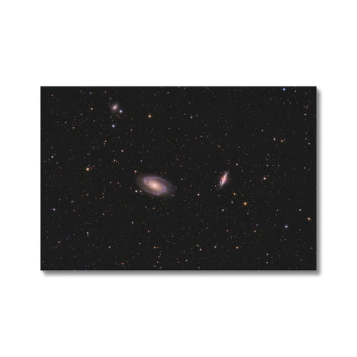 Bode & Cigar Galaxies Canvas