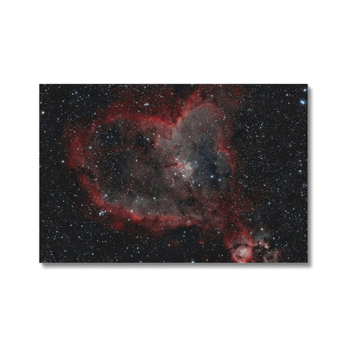 Heart Nebula (HOO) Canvas