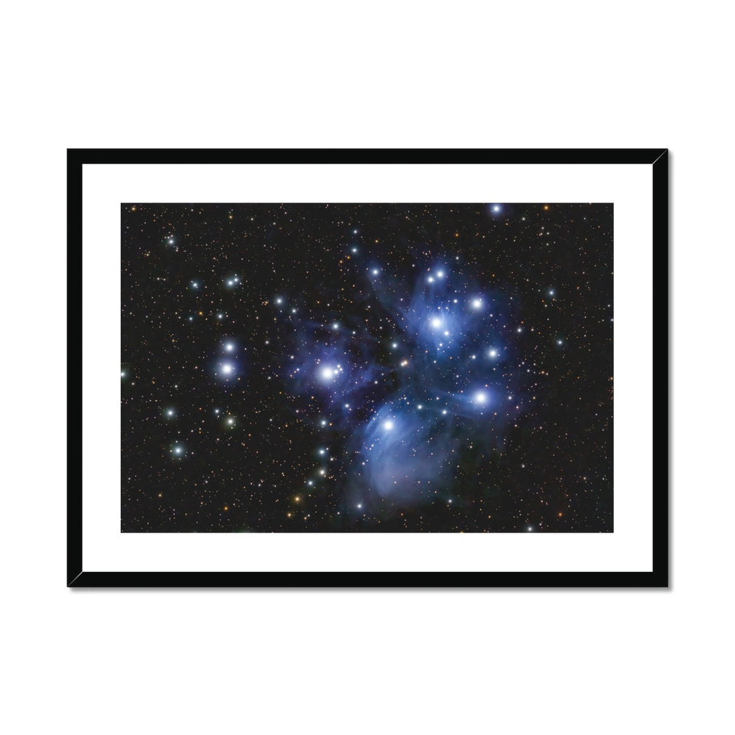 The Pleiades Framed & Mounted Print