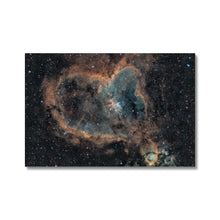 Load image into Gallery viewer, Heart Nebula (SHO) Canvas