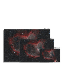 Load image into Gallery viewer, Heart Nebula (HOO) Fine Art Print