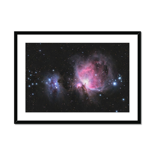 Orion Nebula Framed & Mounted Print