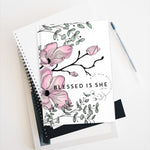 Pink floral Journal - Blank