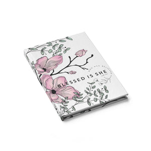 Load image into Gallery viewer, Pink floral Journal - Blank