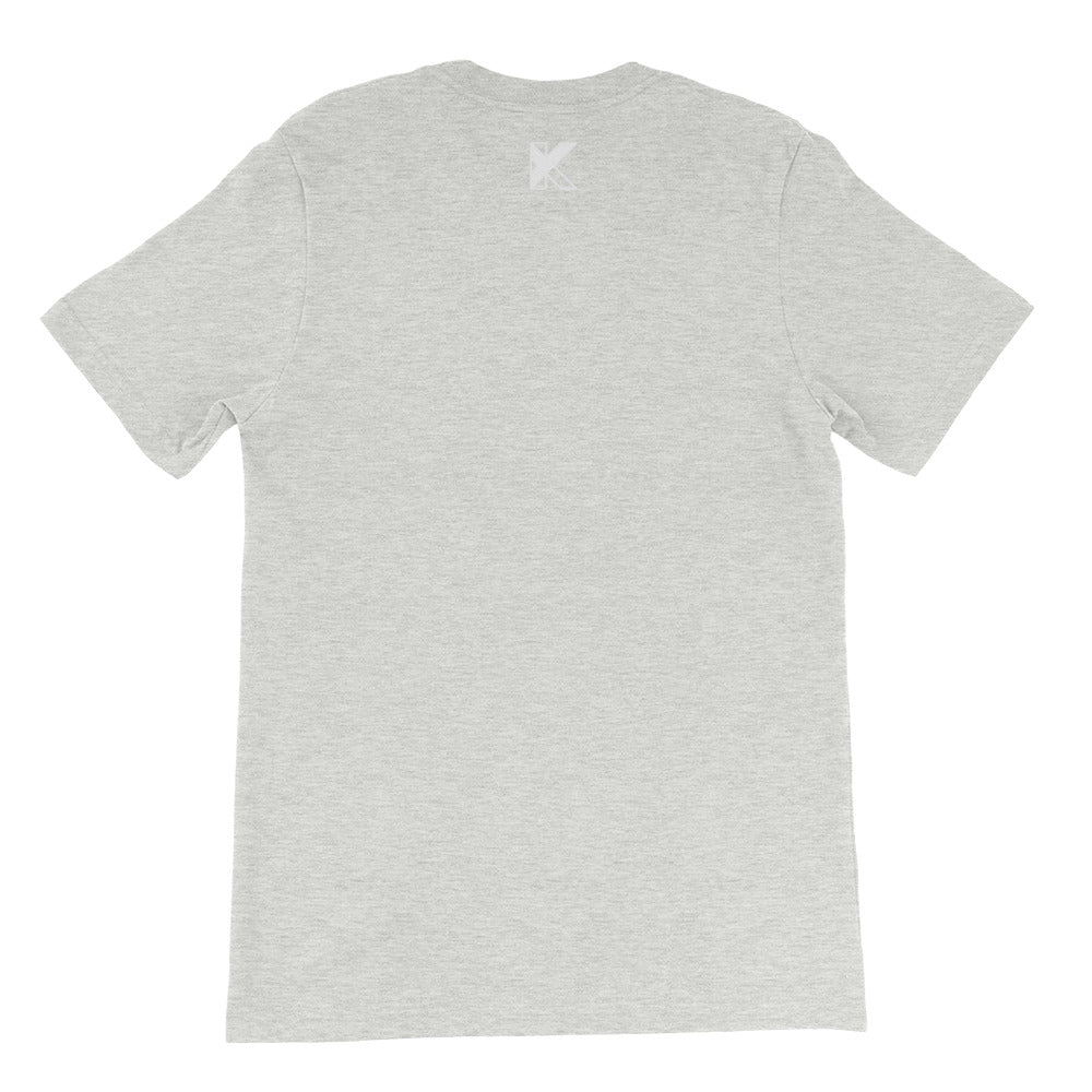 Short-Sleeve Unisex T-Shirt - beautiful human - white logo