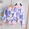 Baby / Toddler Adorable Hooded Coat and Floral Pants Set
