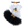 Amanda's Design (Black)_Romper & Tutu Suit