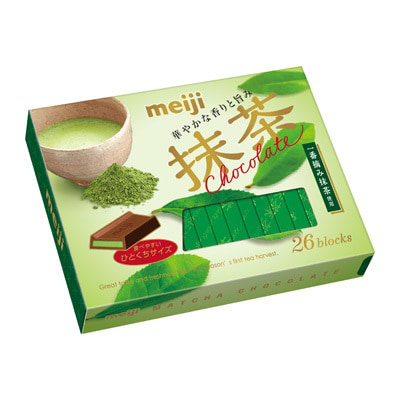 Buy Meiji Matcha Chocolate Box 26pcs 120.9gm | FUJIMART Online
