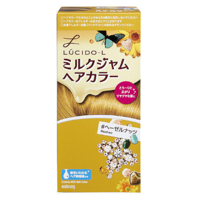 Lucido-L Milk Jam Hair Color (Hazelnut) 125gm