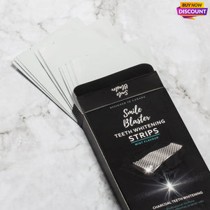 Activated Charcoal Whitening Strips-Strips-SmileBlaster