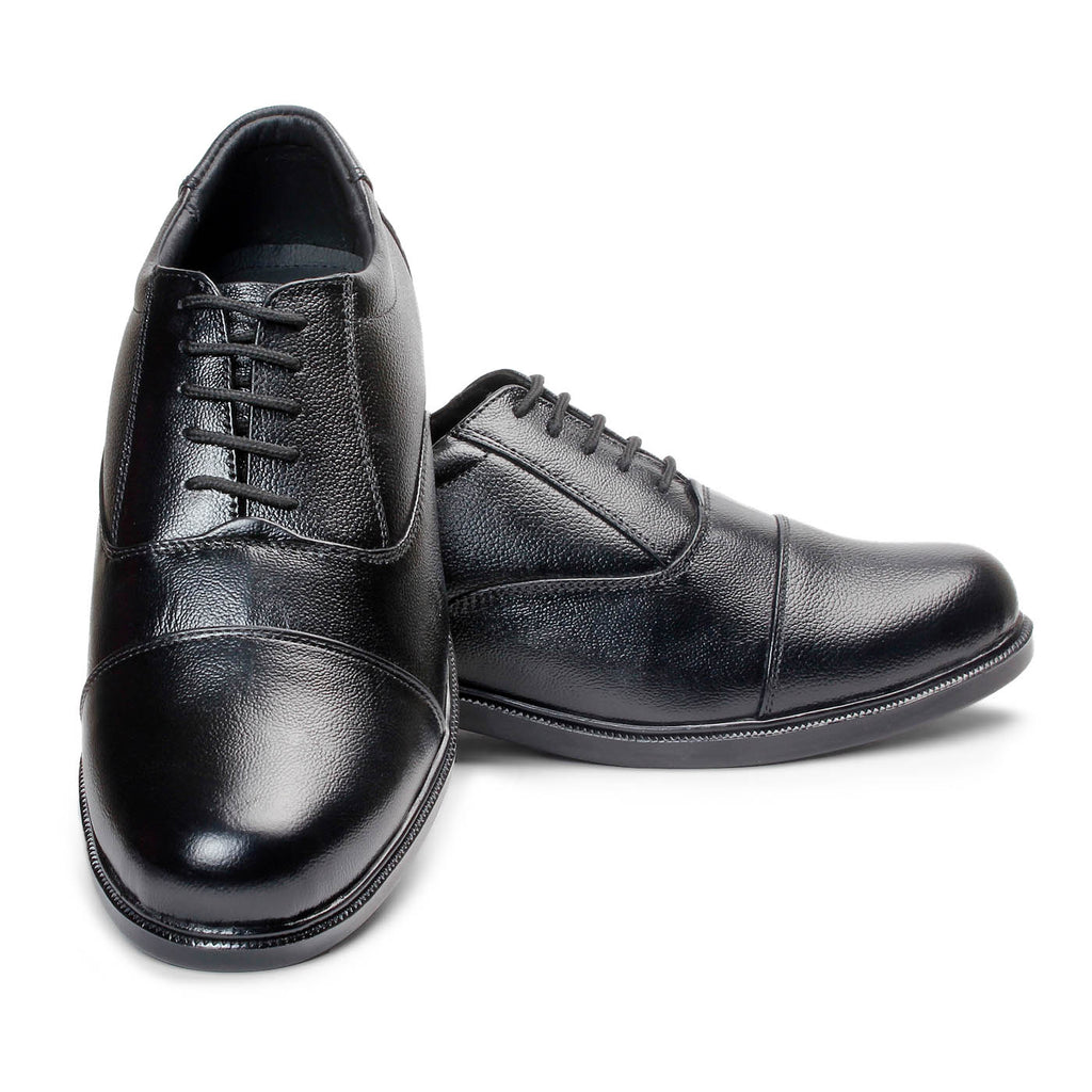 Bacca Bucci Men's Leather Shoes - Black - Bacca Bucci