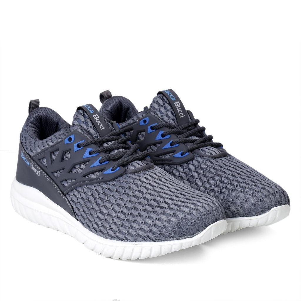 Bacca Bucci Men Casual Sports Shoes AIR Trainers/Gym Running Athletic Competition Sneakers - Bacca Bucci