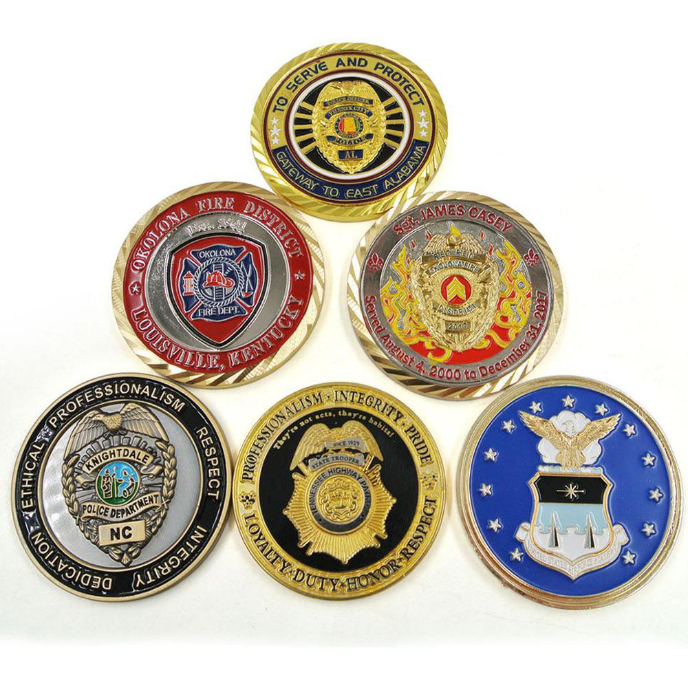 Florida State Police Challenge Coins – Honoring Florida Law Enforcement Officers