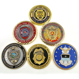 California State Police Challenge Coins – Honoring California Police Officers