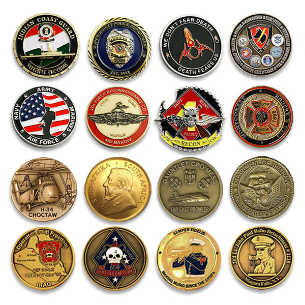 Indiana State Police Challenge Coins – Honoring Indiana Law Enforcement Officers