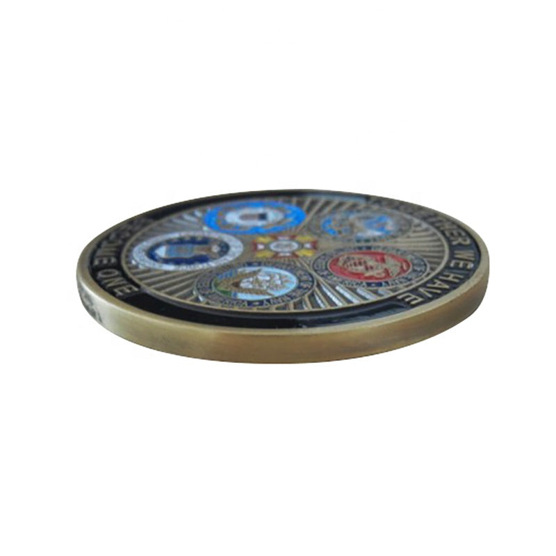 Utah State Police Challenge Coins – Back the Blue in Utah