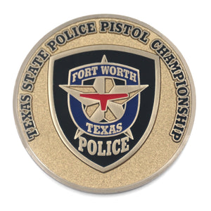 Texas State Police Challenge Coins – Honoring Texas Police Officers