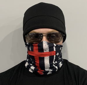 Show Your Admiration for Firefighters with the Thin Red Line Neck Gaiter